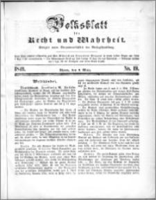 Volksblatt 1849, nr 19