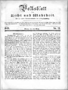 Volksblatt 1849, nr 21