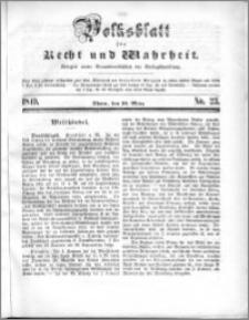 Volksblatt 1849, nr 23