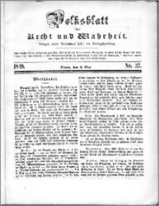 Volksblatt 1849, nr 37
