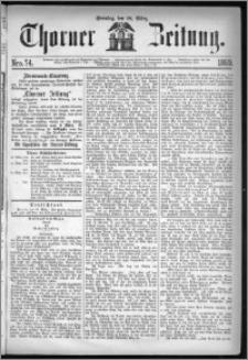 Thorner Zeitung 1869, No. 74