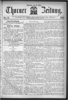 Thorner Zeitung 1869, No. 75