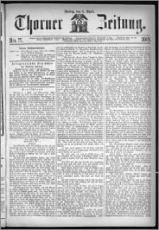Thorner Zeitung 1869, No. 77