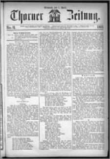 Thorner Zeitung 1869, No. 81