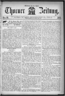 Thorner Zeitung 1869, No. 98