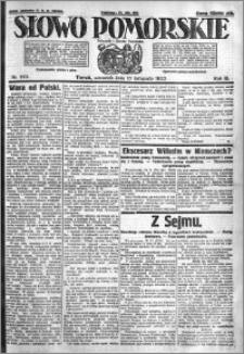 Słowo Pomorskie 1923.11.15 R.3 nr 262