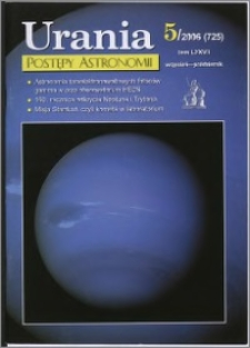 Urania - Postępy Astronomii 2006, T. 77 nr 5 (725)