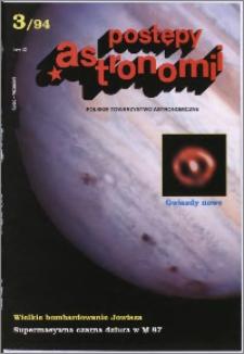 Postępy Astronomii 1994, T. 42 z. 3