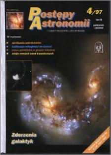 Postępy Astronomii 1997, T. 45 z. 4