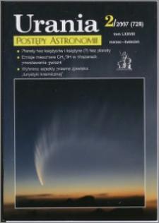 Urania - Postępy Astronomii 2007, T. 78 nr 2 (728)
