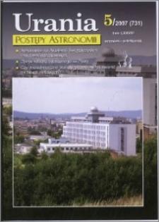 Urania - Postępy Astronomii 2007, T. 78 nr 5 (731)