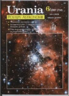 Urania - Postępy Astronomii 2007, T. 78 nr 6 (732)
