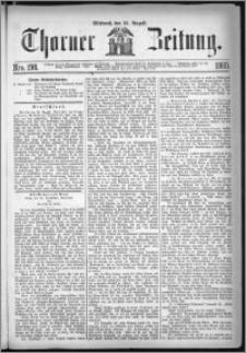 Thorner Zeitung 1869, No. 198
