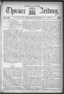 Thorner Zeitung 1869, No. 241