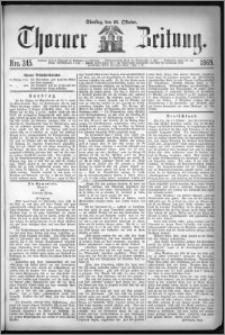 Thorner Zeitung 1869, No. 245