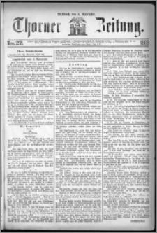 Thorner Zeitung 1869, No. 258