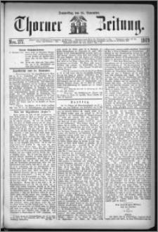 Thorner Zeitung 1869, No. 277