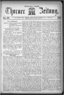 Thorner Zeitung 1869, No. 286