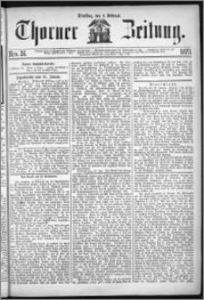 Thorner Zeitung 1870, No. 26