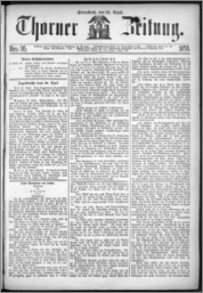 Thorner Zeitung 1870, No. 95