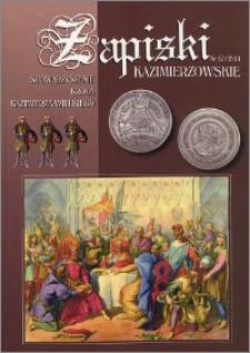 Zapiski Kazimierzowskie 2014 nr 12