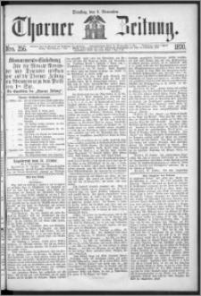 Thorner Zeitung 1870, No. 256
