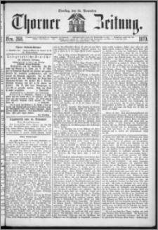 Thorner Zeitung 1870, No. 268