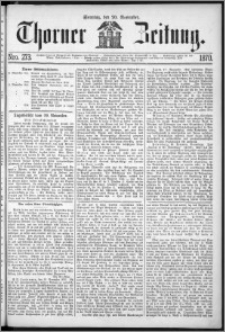 Thorner Zeitung 1870, No. 273