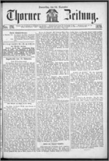 Thorner Zeitung 1870, No. 276