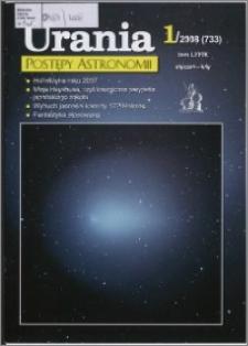 Urania - Postępy Astronomii 2008, T. 79 nr 1 (733)