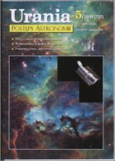 Urania - Postępy Astronomii 2008, T. 79 nr 5 (737)