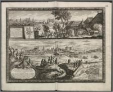 Situs Oppidi Brombergae ubi S. R. M. Sveciae, decreta in Daniam expedetione Copias suas Congregavit [...] 1657