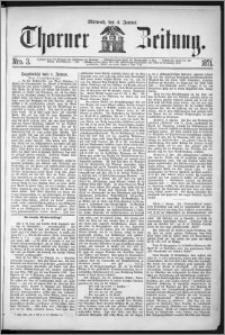 Thorner Zeitung 1871, Nro. 3