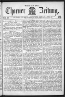 Thorner Zeitung 1871, Nro. 33