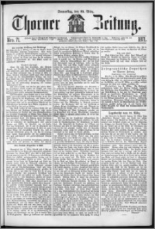 Thorner Zeitung 1871, Nro. 71