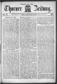 Thorner Zeitung 1871, Nro. 85