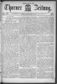 Thorner Zeitung 1871, Nro. 173 + Extra Beilage