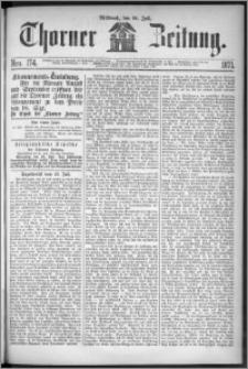 Thorner Zeitung 1871, Nro. 174 + Extra Beilage