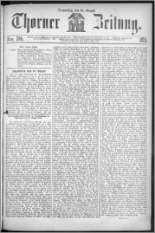 Thorner Zeitung 1871, Nro. 205