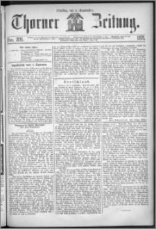 Thorner Zeitung 1871, Nro. 209