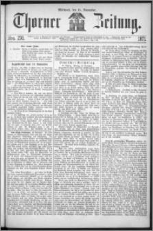 Thorner Zeitung 1871, Nro. 270
