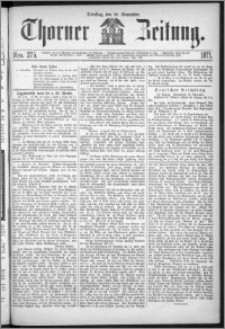 Thorner Zeitung 1871, Nro. 275