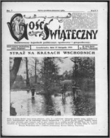 Gość Świąteczny 1929, R. I, nr 7
