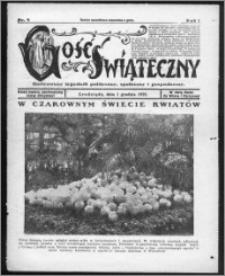 Gość Świąteczny 1929, R. I, nr 9