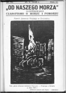 Od Naszego Morza 1932, R. 4, nr 10