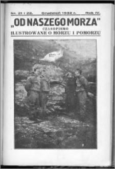 Od Naszego Morza 1932, R. 4, nr 21 i 22
