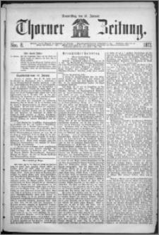 Thorner Zeitung 1872, Nro. 8