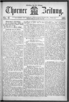 Thorner Zeitung 1872, Nro. 47