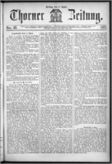 Thorner Zeitung 1872, Nro. 80