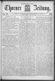 Thorner Zeitung 1872, Nro. 115